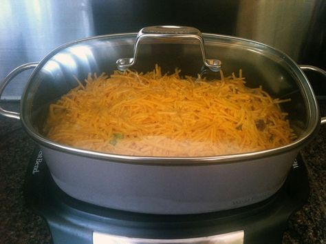 The breakfast casserole in my West Bend Slow Cooker