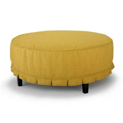 catalina round ottoman by cisco