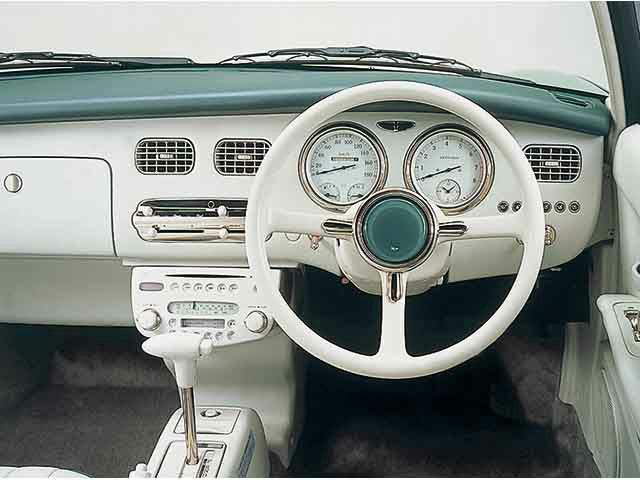 NISSAN  フィガロ 内装 Nissan Figaro...I want one...これほしいいい