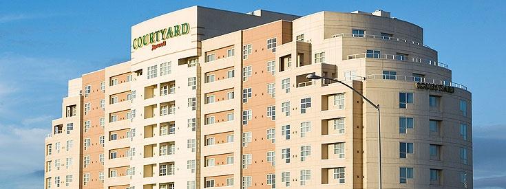 Courtyard Marriott Hotel in Emeryville CA!