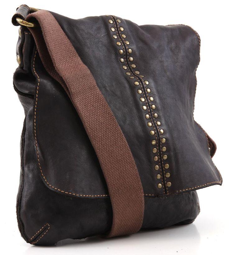 Campomaggi Lavata Messenger Bag Leather wardow.com