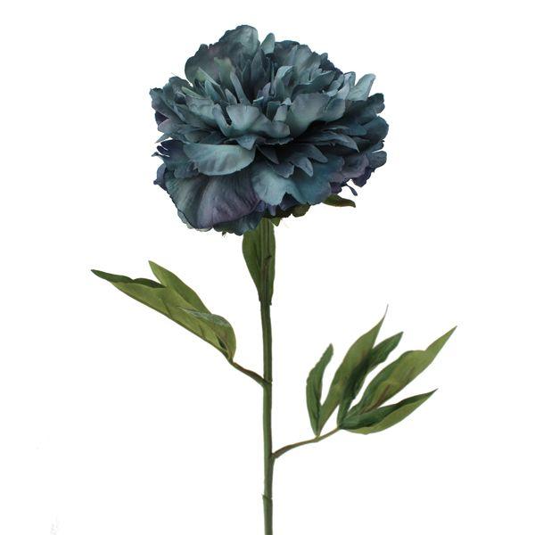Pivoine bleu 27''