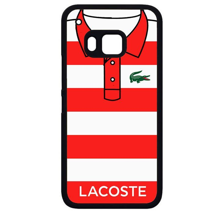 Red Blaster Shirt LacostePhonecase Cover Case For HTC One M7 HTC One M8 HTC One M9 HTC ONe X