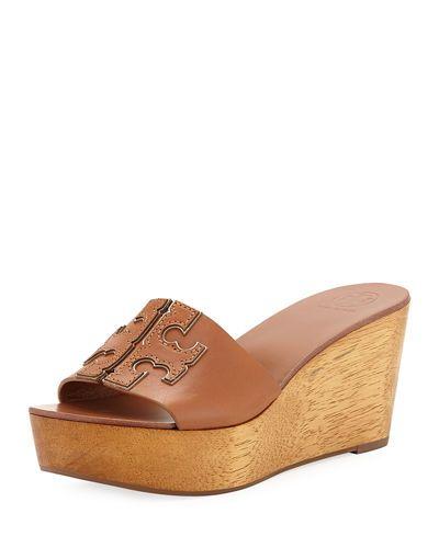 da9493d76 Ines 80mm Wedge Slide Sandals