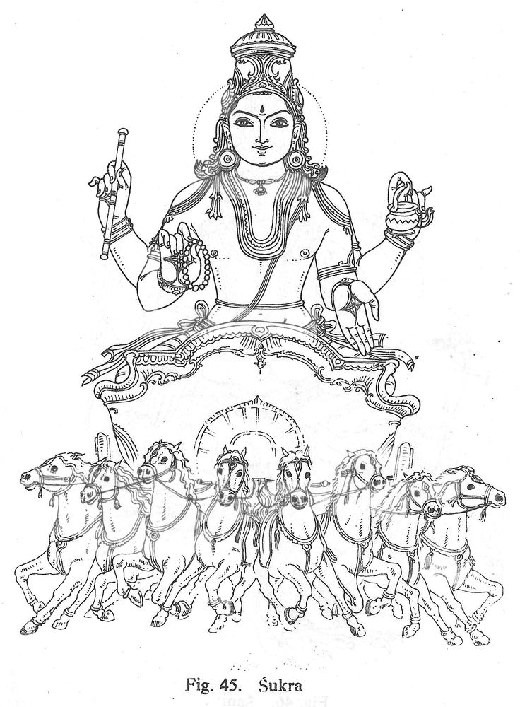 Pencil durga coloring pages for Hindu gods coloring pages