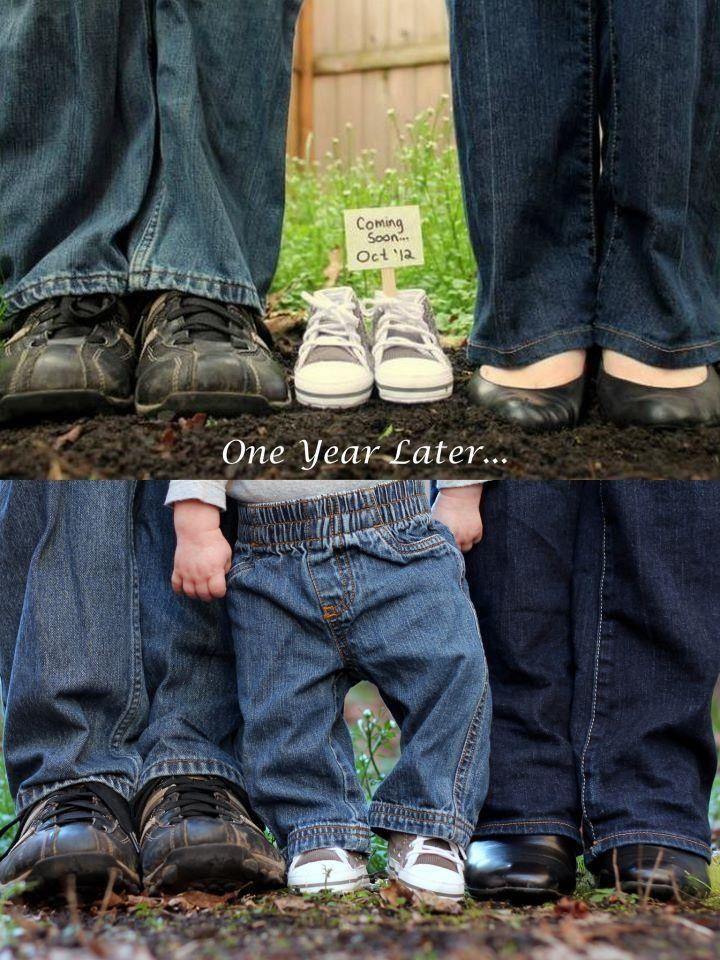 53 best Baby Announcement Idea images – Baby Bump Announcements