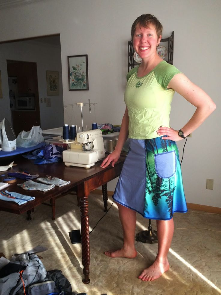 Rambling Hemlock: Next Generation DIY Hiking Skirt