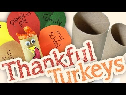 Thankful Turkeys Tutorial - Hold on to your toilet paper rolls, teacher friends! This Thanksgiving craft is easy to do and makes a cute classroom display. FREE printables provided in English and Spanish.