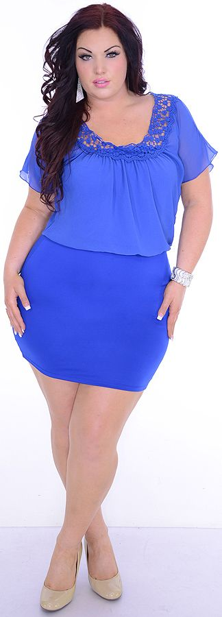 Sensitive One (Plus)-Great Glam is the web's best sexy plus size online store clothing website for 1X 2X and 3X clothes for women and juniors.