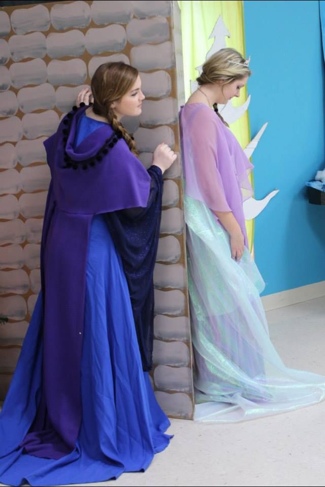 Do you want to meet my savior?  Princess Elsa and Anna- Unfrozen Christmas Series