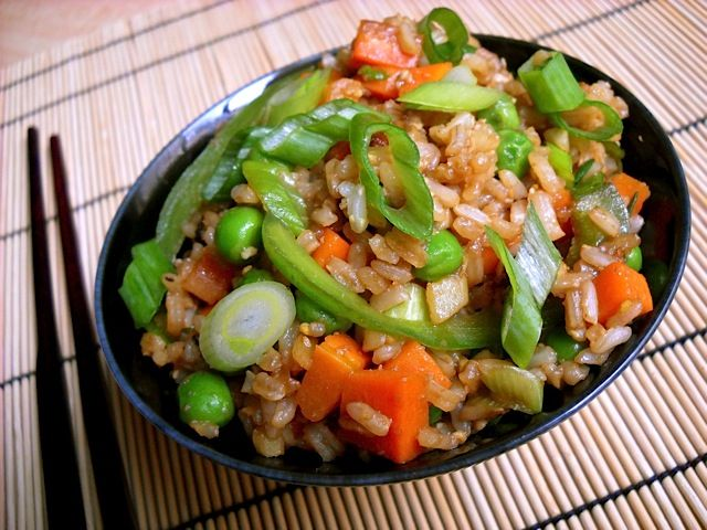 Lighter fried rice with less obscure ingredients.: Budget Byte, Veggies Fried Rice, Vegetables Fried Rice, Asian Food, Vegetable Fried Rice, Toilets Seats, 90 Meals, Veggies Rice, Cooking Vegetables