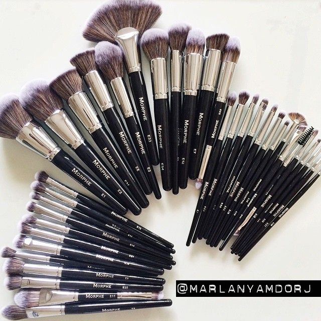 The new #ELITE collection by @morphebrushes these are quite possibly the softest brushes ever! #artistsdream