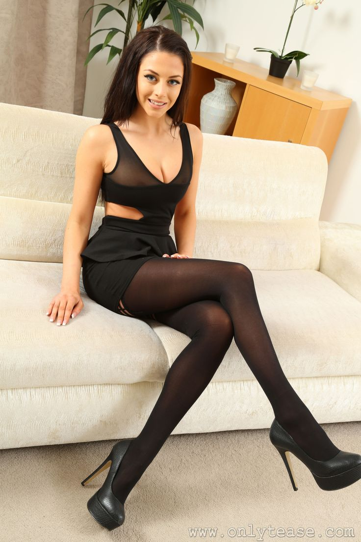 Something women in boots and black pantyhose brilliant