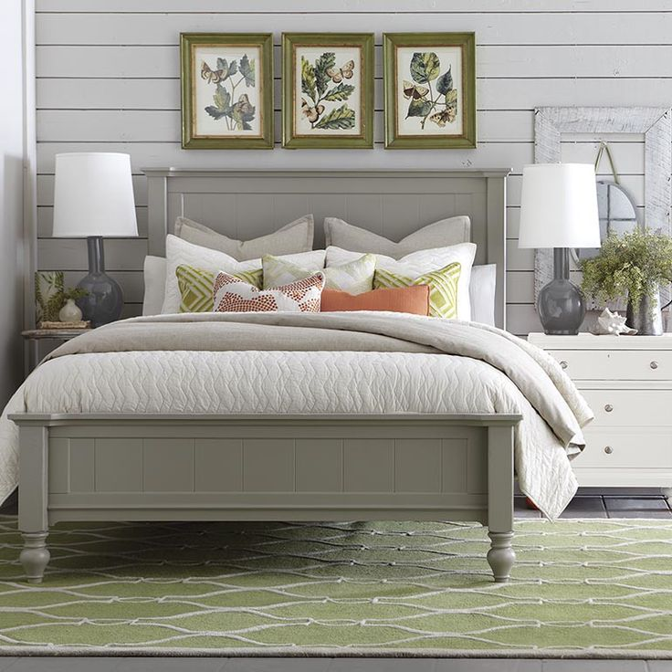 Wakefield Colors Panel Bed | Bedroom Furniture | Bassett Furniture