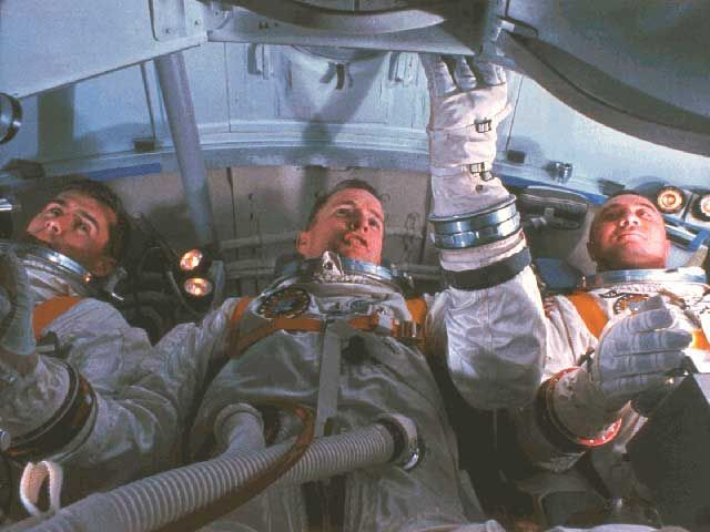 """""""If we die, we want people to accept it. We're in a risky business, and we hope that if anything happens to us it will not delay the program. The conquest of space is worth the risk of life."""" -Gus Grissom.    Today is the anniversary of the Apollo 1 capsule fire that took the lives of Gus Grissom, Edward White, Roger Chaffee on Jan 17, 1967."""