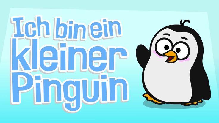 Kinderlied Pinguin - Ich bin ein kleiner Pinguin - Hurra