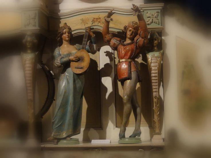Detail of Gavioli & Cie dance organ, Th Mortier.  Museum 'Speelklok tot Pierement', Utrecht.