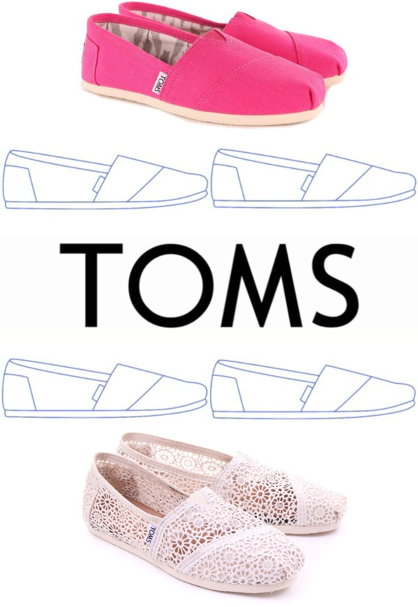 """""""TOMS"""" by niallsfurbies ❤ liked on Polyvore . I think I want a pair .. But which color ?"""