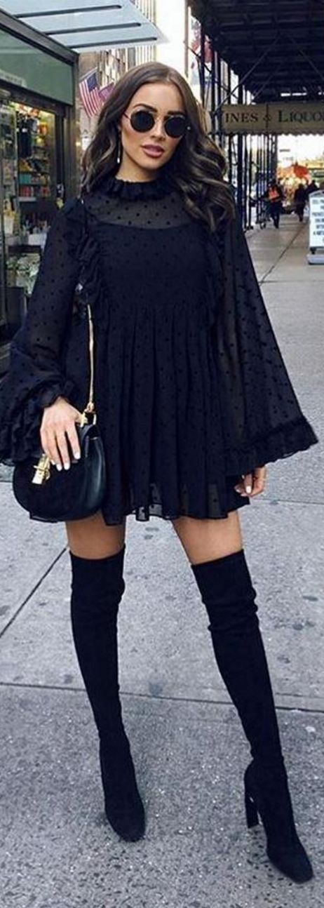 Olivia Culpo in Dress – See by Chloe Purse – Chloe Shoes – Stuart Weitzman