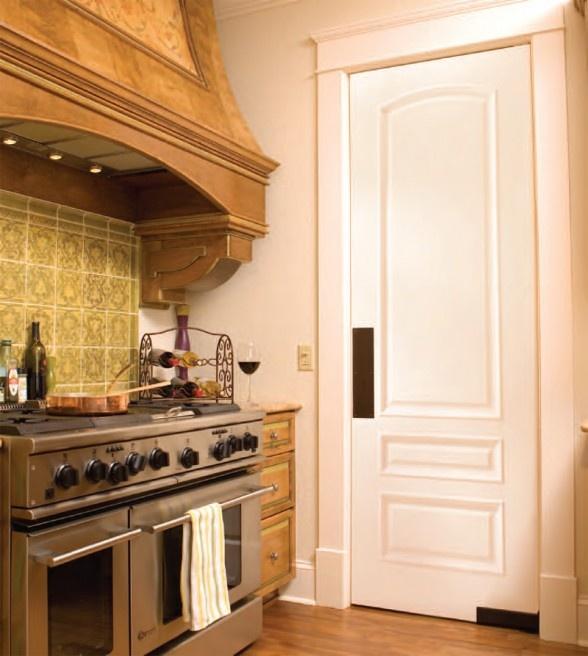 Interior Swinging Kitchen Doors: Exterior Homes, Facades And Front Doors