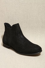 H By Hudson Black Younger Chelsea Boots  #uostyle