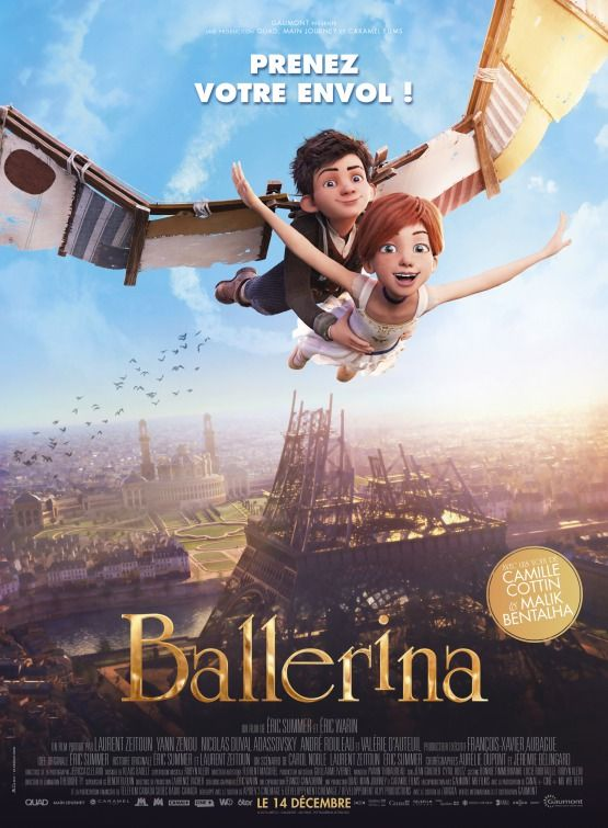 "CINE ΣΕΡΡΕΣ - Η ταινία των Eric Summer, Éric Warin ""Ballerina (2016)"" στο Κινηματογράφο Κρόνιο στις Σέρρες ~~~   www.serresland.gr - Οι Σέρρες στο επίκεντρο...Σερραϊκές ειδήσεις, Σερραϊκός αθλητισμός, εκδηλώσεις & ψυχαγωγία στις Σέρρες"