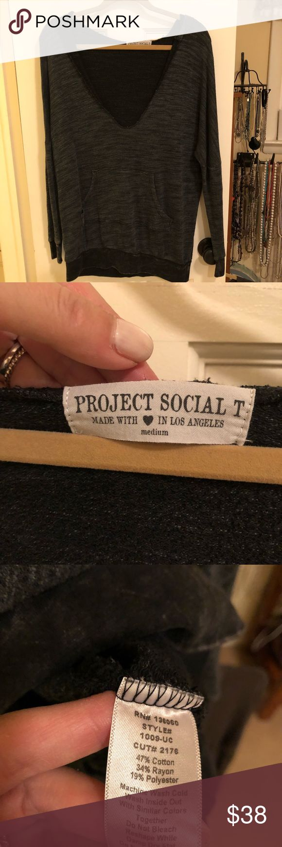Project Social Tee. Worn once So cozy! Project Social T Tops Sweatshirts & Hoodies