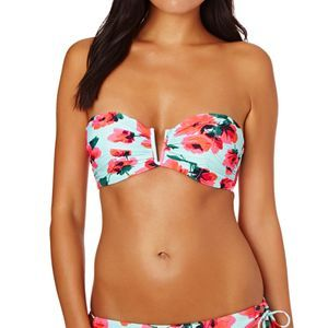 Billabong Bikini Tops - Billabong Bella Bustier Bikini Top - Beach Glass