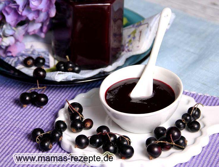 Rezept Schwarzes Johannisbeergelee auf Mamas Rezepte Homepage