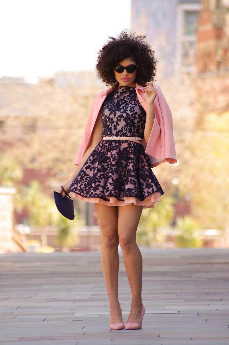 ecstasymodels:  The Jones and Jones Dress  Dress – Jones and Jones, Belt – Primark, Jacket – Zara, Heels – New Look, Bag – H&M Samio