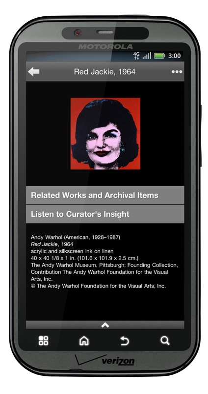 The Warhol: Art app for Android, iPhone, iPad, and iPod Touch