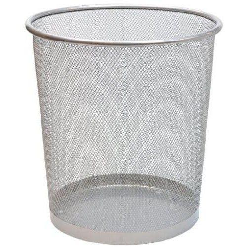 Mesh fémhálós papírkosár, fém szemetes kosár - Ezüst - Fémhálós irodaszerek Ft Ár 1,590
