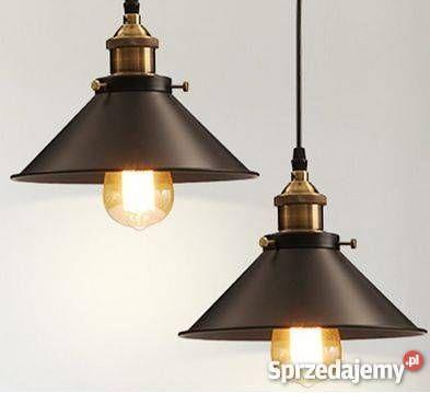 Lampa wisząca industrialna w stylu retro vintage Warszawa sprzedam