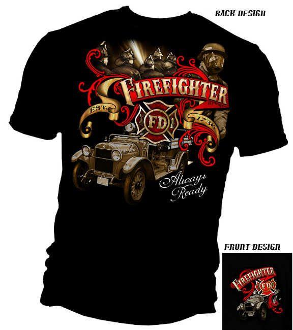 firefighter apparel | Catalog: Firefighter T-Shirts & Clothing - Hot Firefighter T-Shirts ...