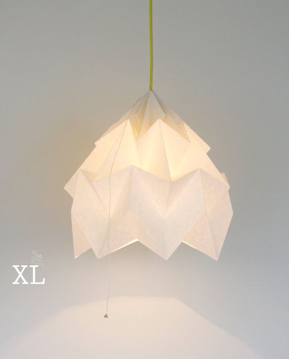 Best 25 origami lampshade ideas on pinterest origami lamp moth origami lampshade by nellianna aloadofball Images