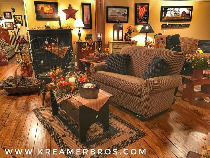 Primitive Country Decorating Games Primitive Living Room Country House Decor Country Decor