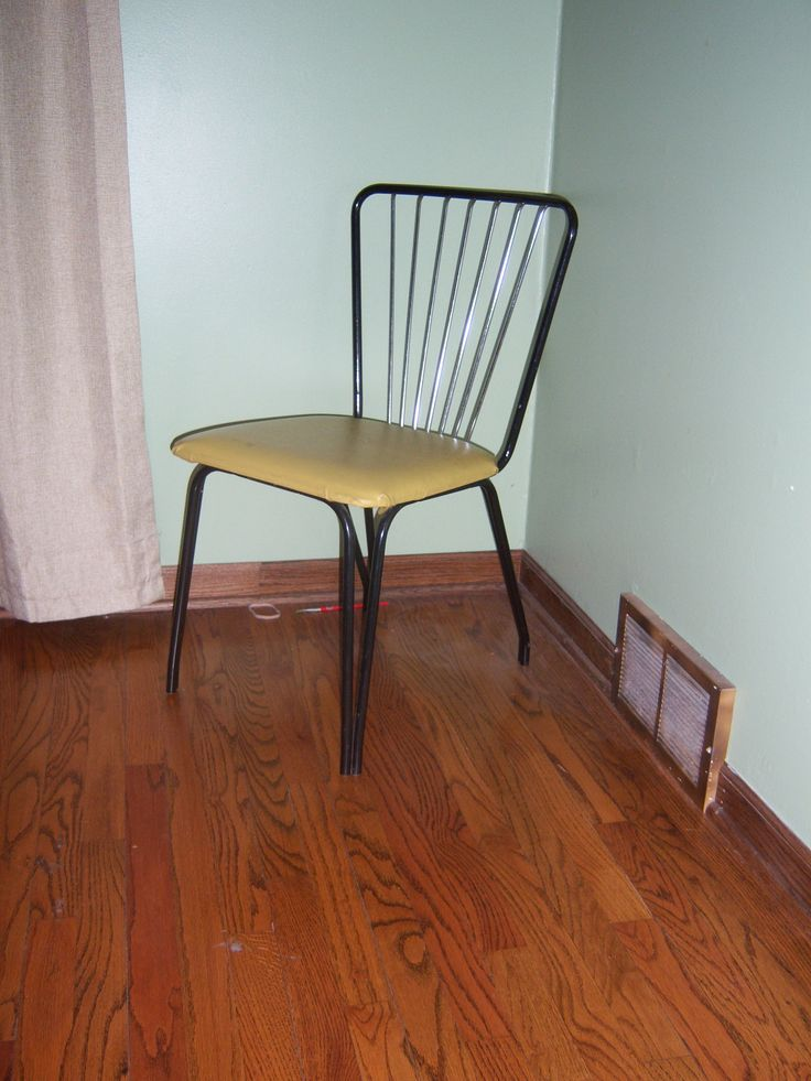 Lloyd Manufacturing (a division of the Heywood Wakefield Company) chairs, a set of 4 for  $5 a piece.