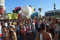 Karneval in Salvador da Bahia, Barra, Salvador, Brazil, Brasilien