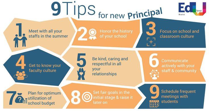 9 Tips for new PRINCIPAL #EdusenseNote