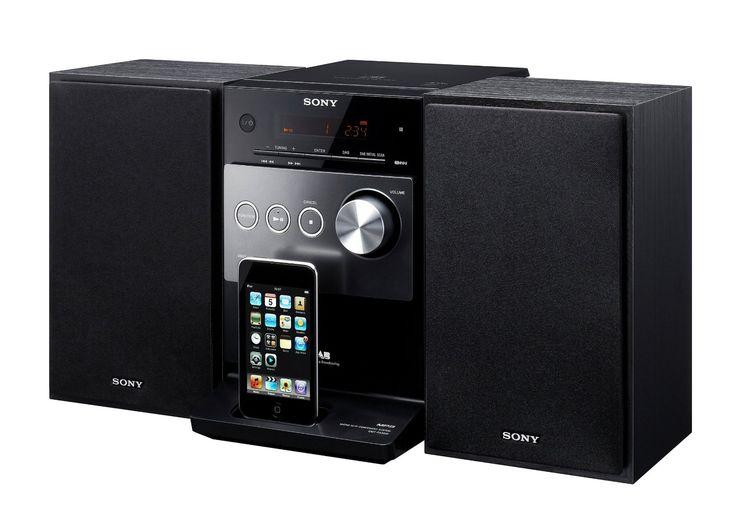 Sony CMT-FX300i Micro Hi-Fi System with iPod Dock
