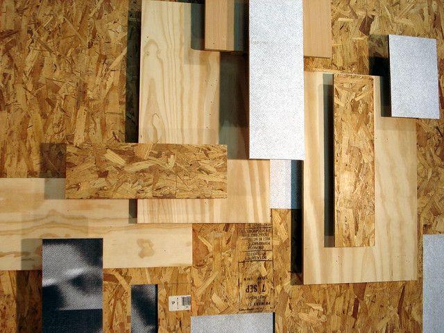 plywood wall