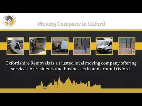 Moving Company Oxford - Oxfordshire Removals