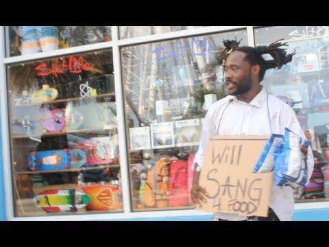 """Homeless man sings John Legend's """"All Of Me"""" - YouTube"""
