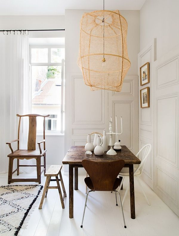 42 best lampshades images on pinterest dining rooms dining room dining rooms dont have to be formal or stuffy were all about a boho chic dining space too check out these 40 dining rooms that master boho interior aloadofball Gallery
