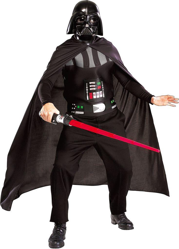 Disfraz de Darth Vader de La Guerra de las Galaxias. Disponibles en www.vegaoo.es