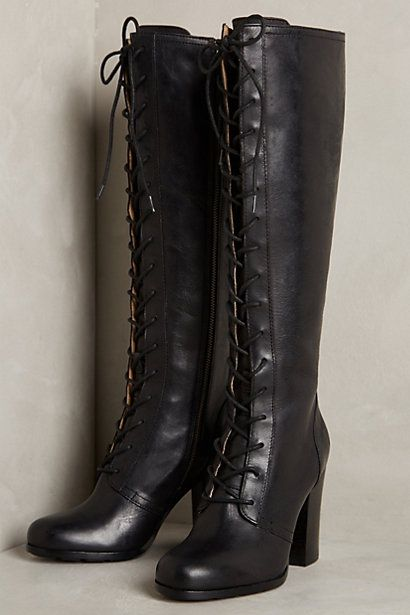 Frye Parker Tall Lace-Up Boots