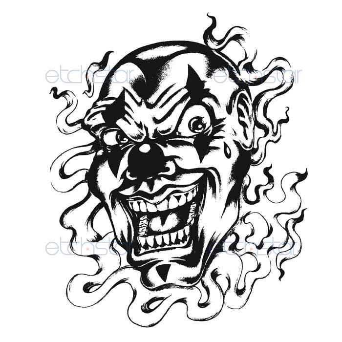 100 black gray evil clown tattoo i love jack in the box by ieatdeadpeople clowns coloring. Black Bedroom Furniture Sets. Home Design Ideas