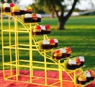 Roller Coaster Shaped Cupcake Stand