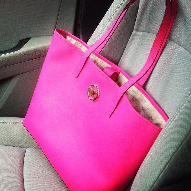 25084f44803c1b ... spain hot pink mk. purses in 2018 pinterest handbags michael kors  handbags and michael kors
