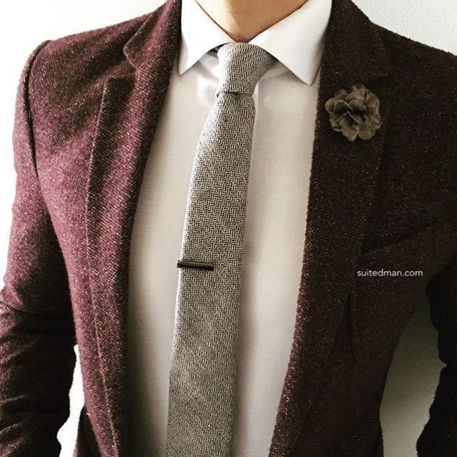 Loving the accessories and stylings from @Suited_Man including their wide selection of wool ties and lapel pins. Get them now at www.suitedman.com